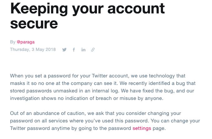 Twitter Data Breach