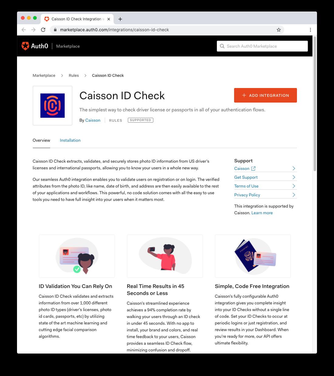 Caisson ID Check
