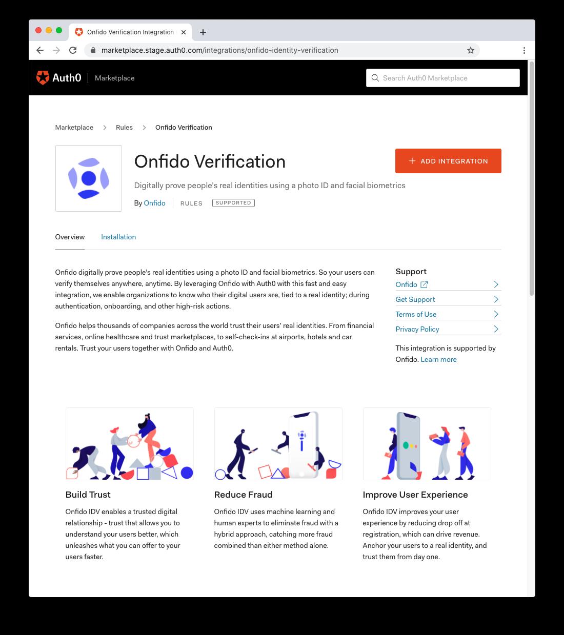 Onfido Identity Verification