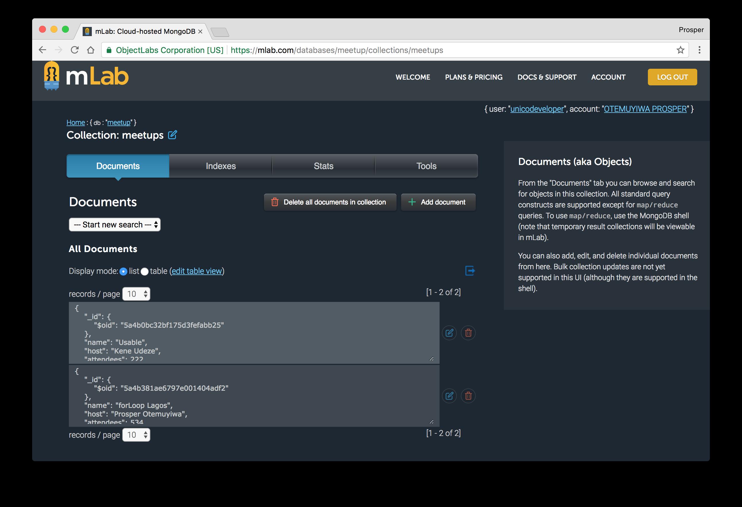 Database Snapshot