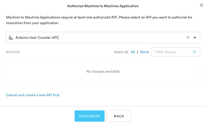 Authorize User Count Rule