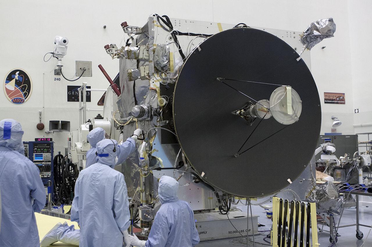 NASA Engineers working on MAVEN