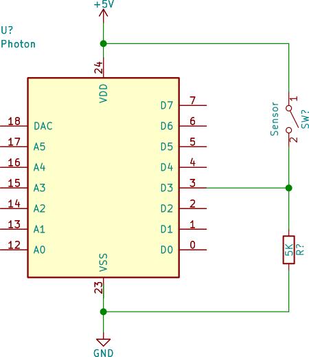 Pull-down input circuit
