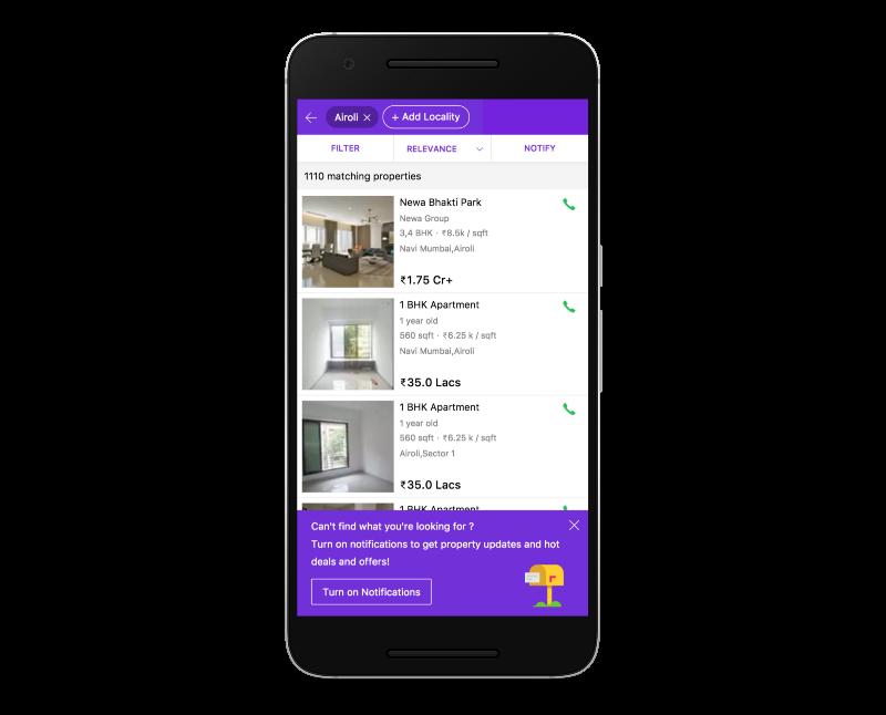 Housing - Push Notifications Option