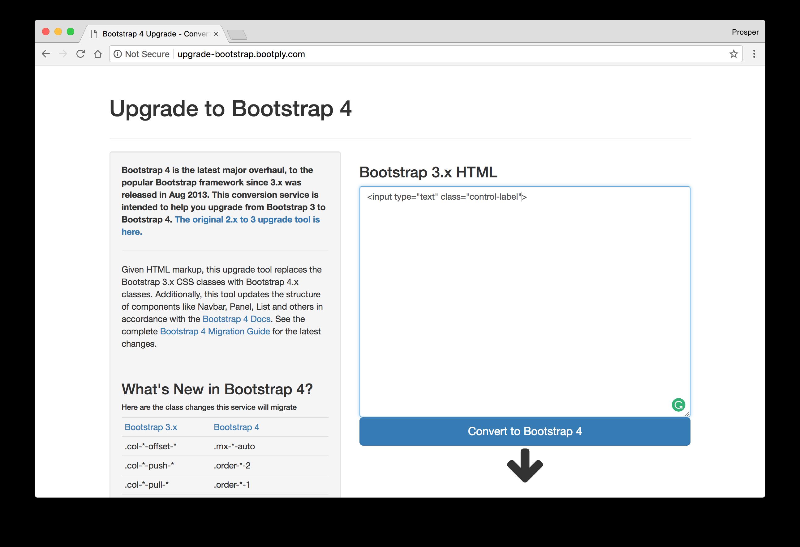 Bootstrap v3