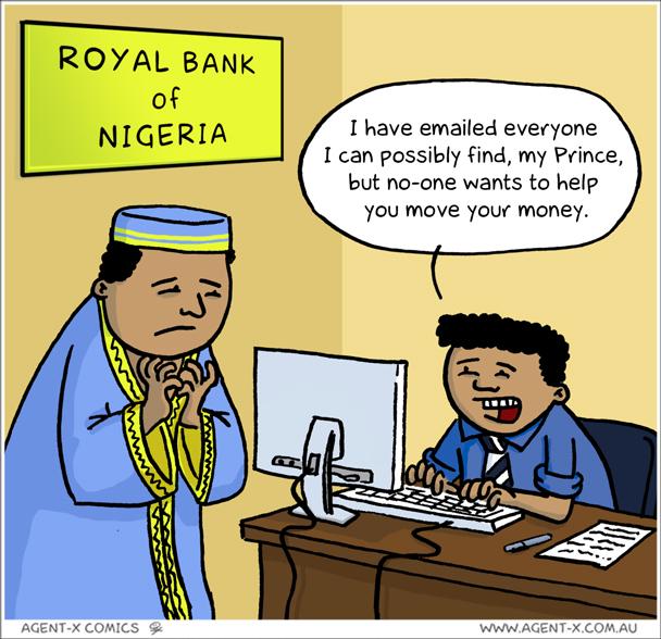 Nigerian Prince jokegit