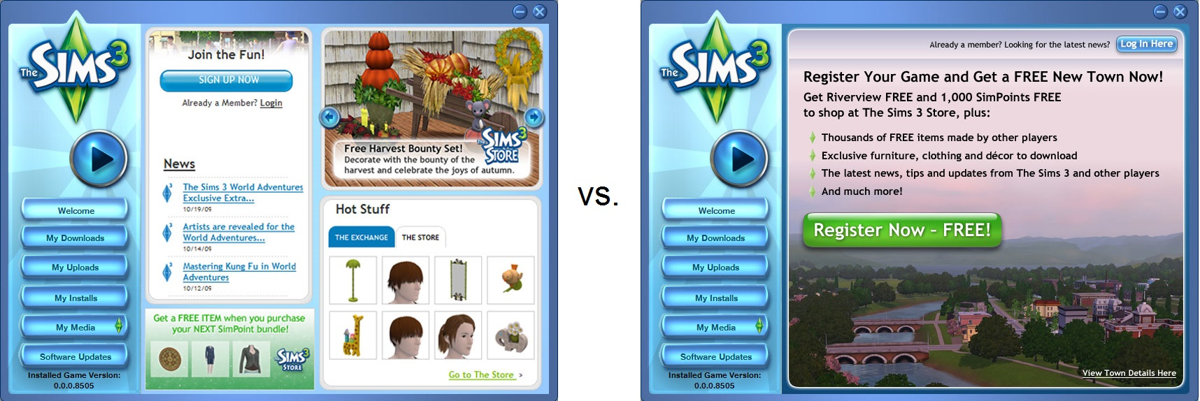 The Sims 3 A/B Testing