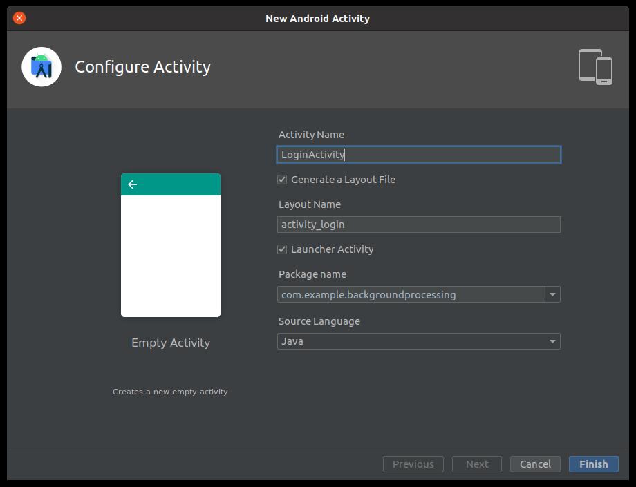 Generate login activity
