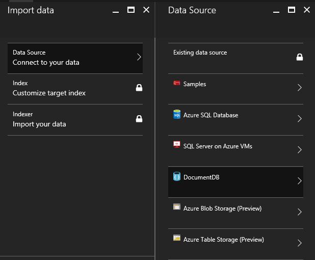 Import data sources