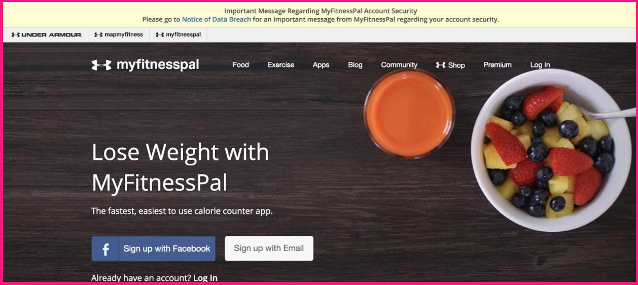 MyFitnessPal Data Breach