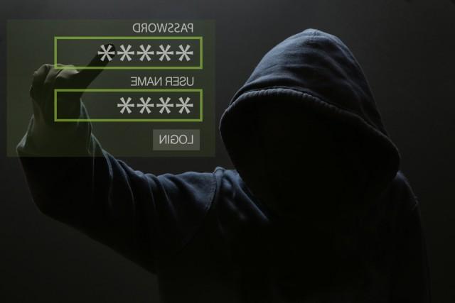 Hacker guessing credentials.