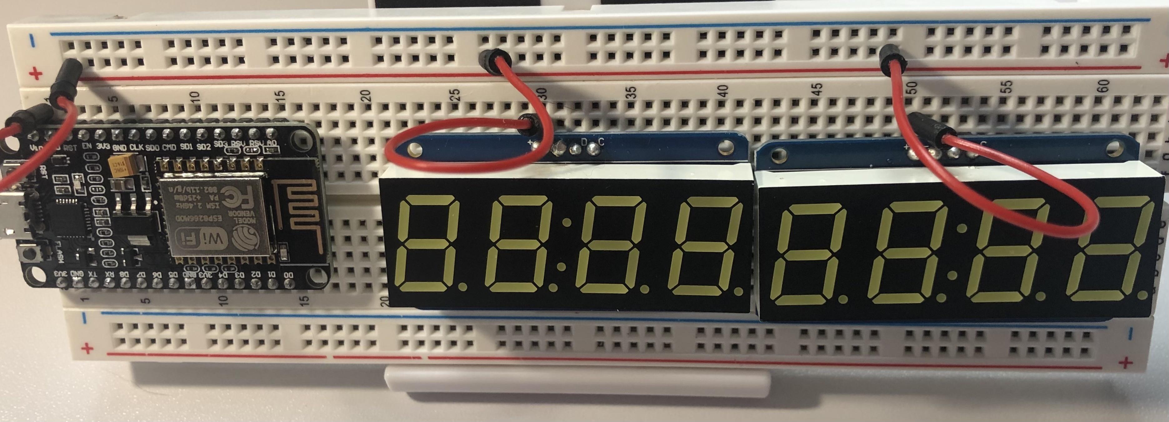 Set up voltage