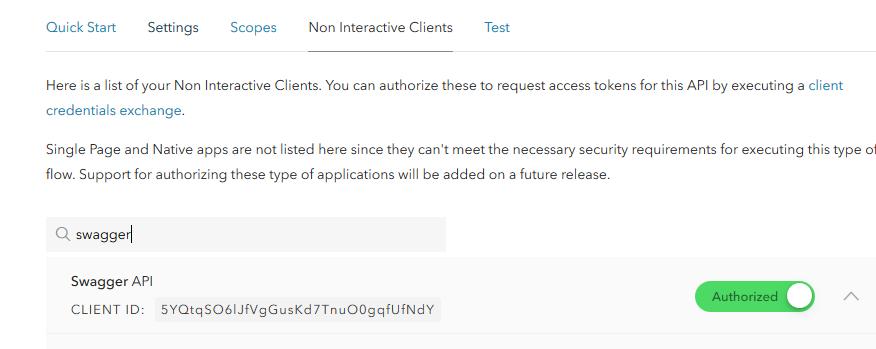 Authorizing our Client