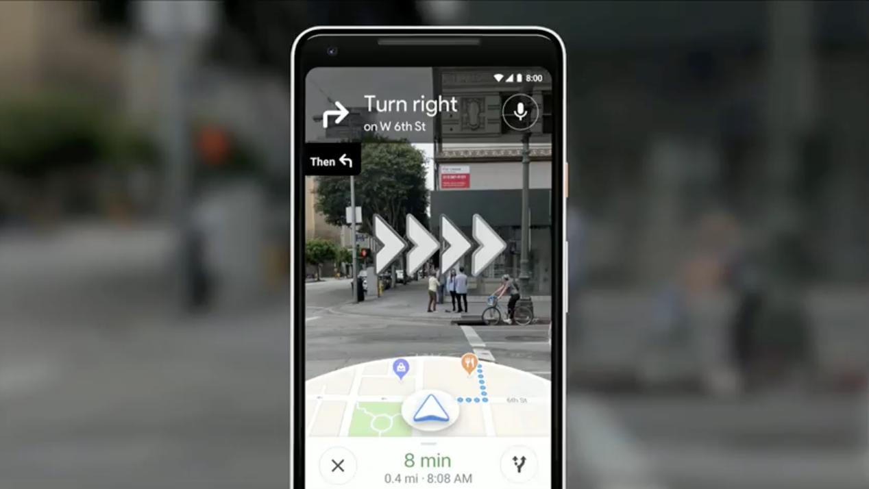 Google Maps direction
