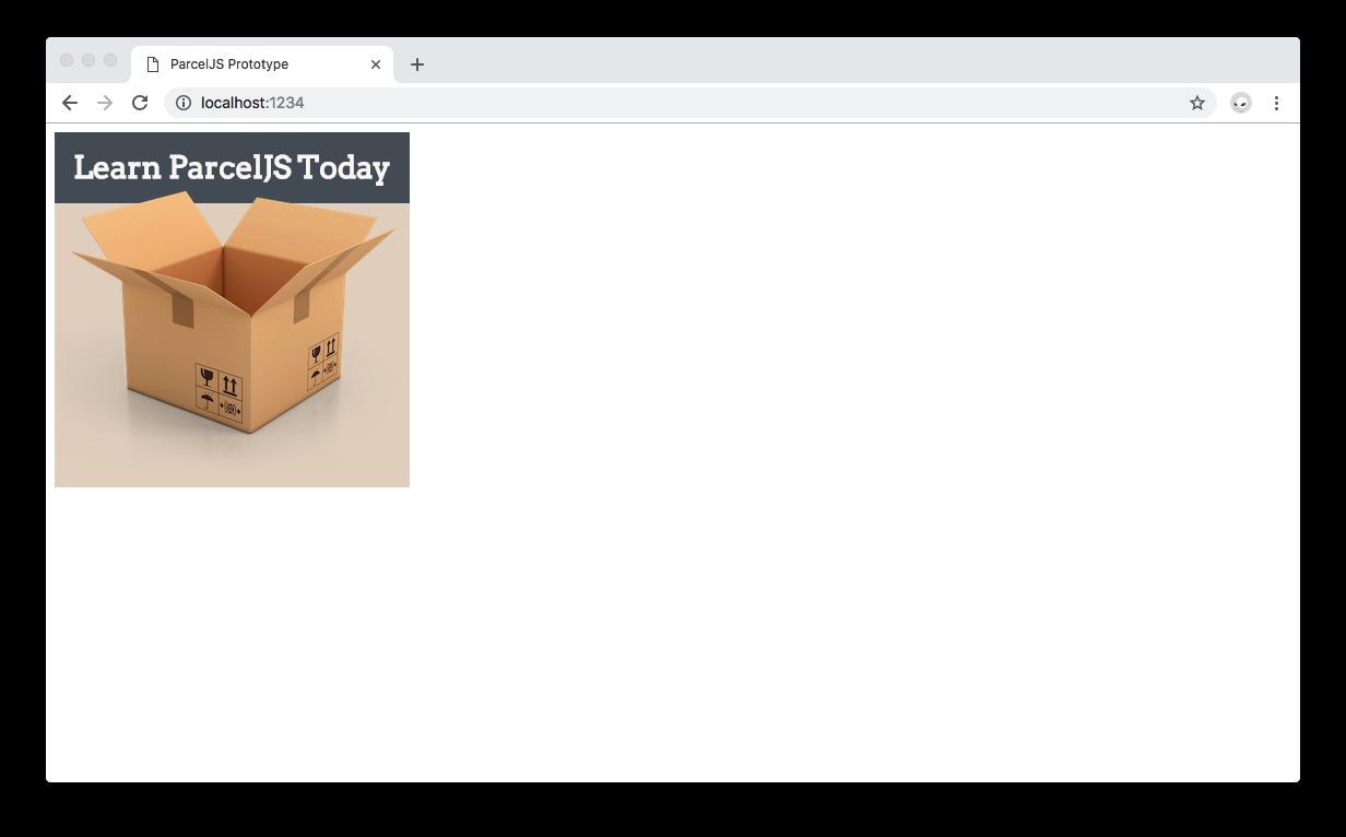 Polished version of the ParcelJS JavaScript app.