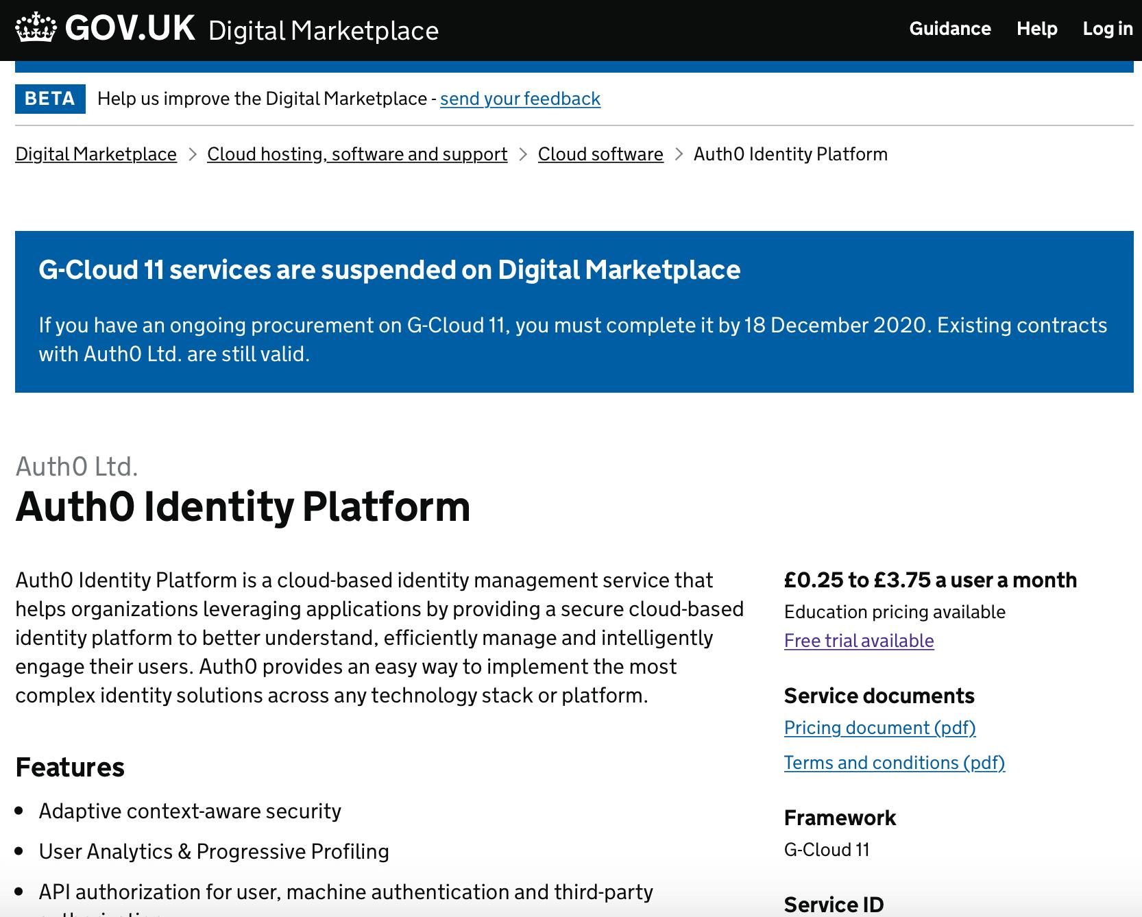 Auth0 Identity Platform