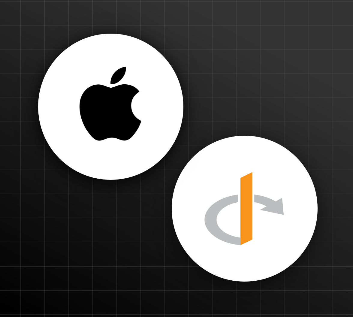 OpenID Foundation and Apple logo illustration