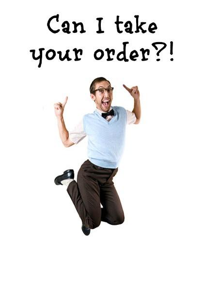 take orders