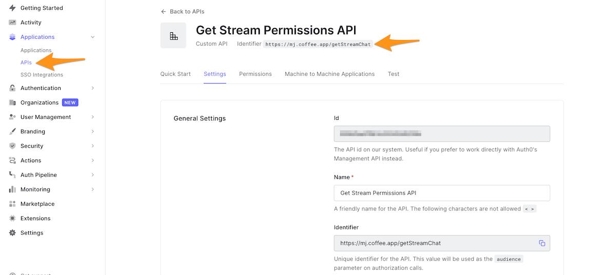 Creating a new custom API
