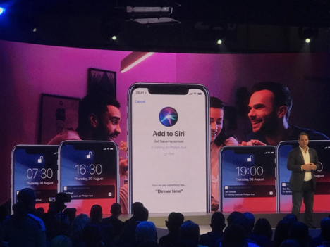 Smart Lighting home automation Siri keynote with iPhone