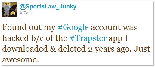 Account Hacked Tweet