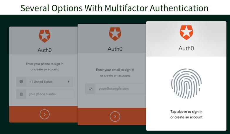 Multi-factor Auth