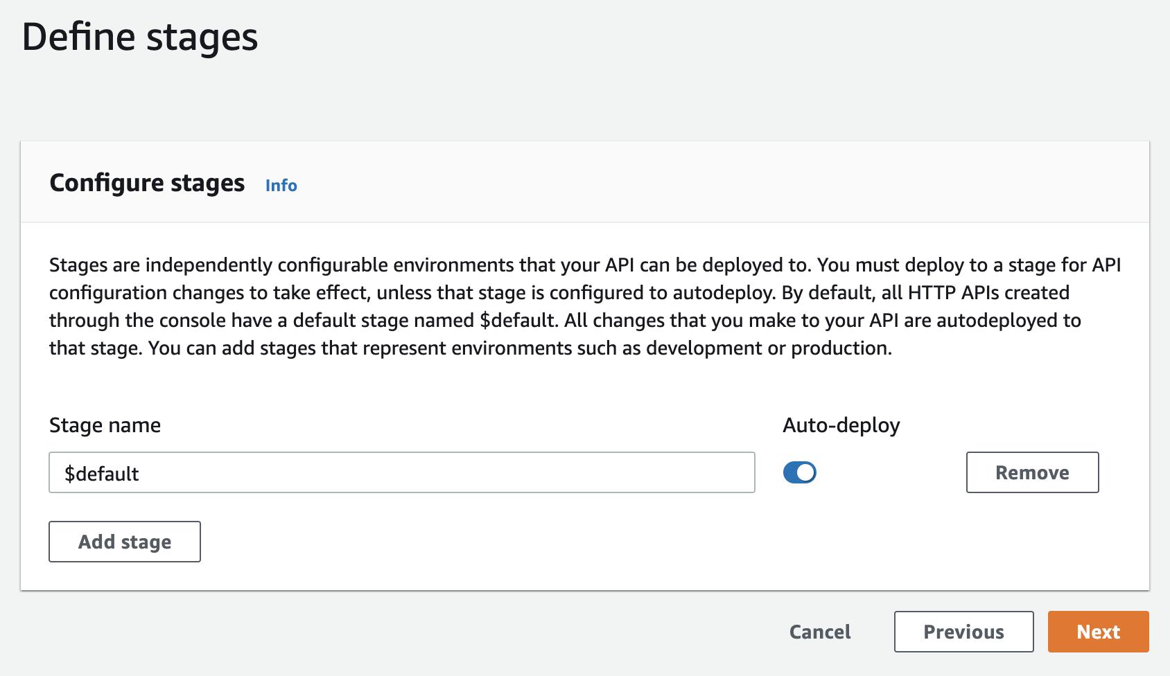 API Gateway - Step 3