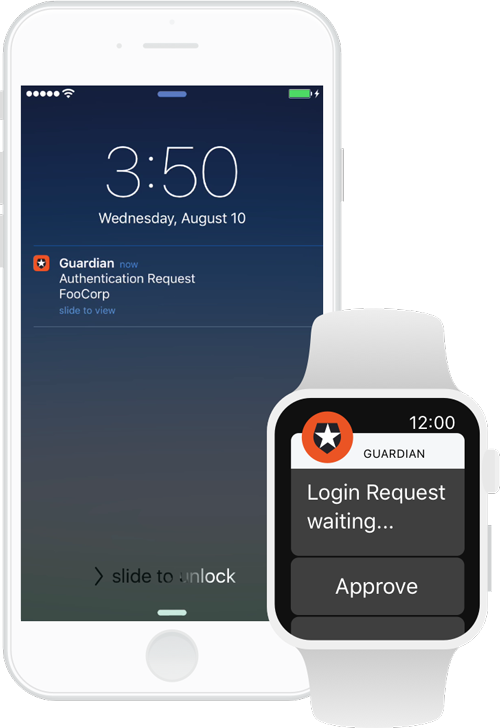 Push Notifications with Auth0 guardian