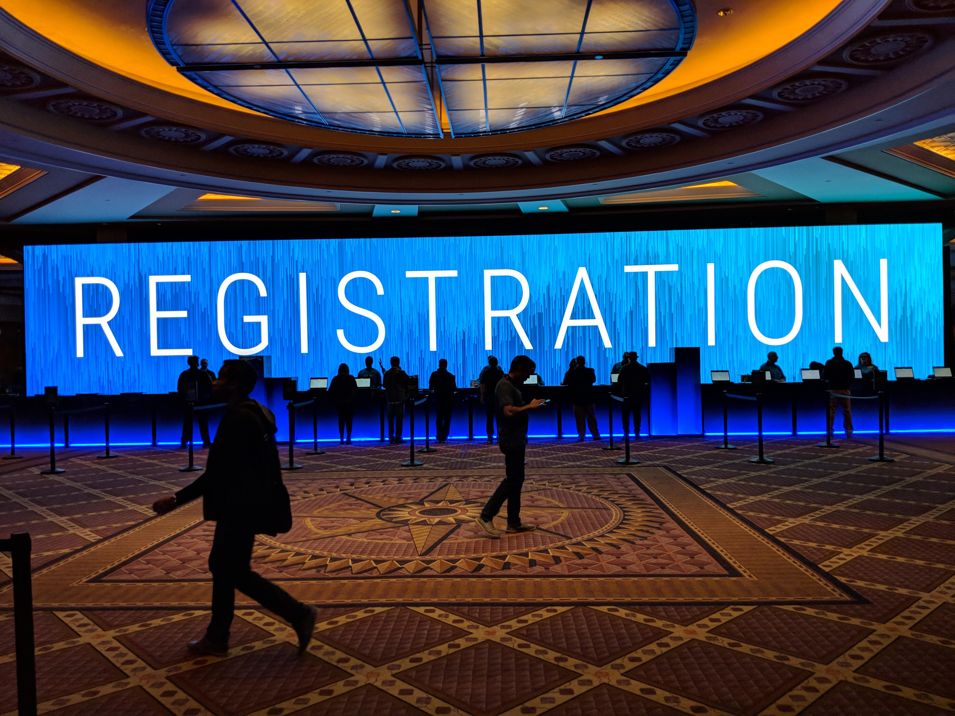 AWS Registration