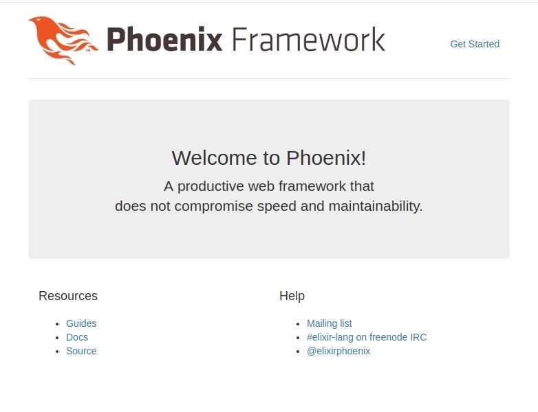 Phoenix app starter