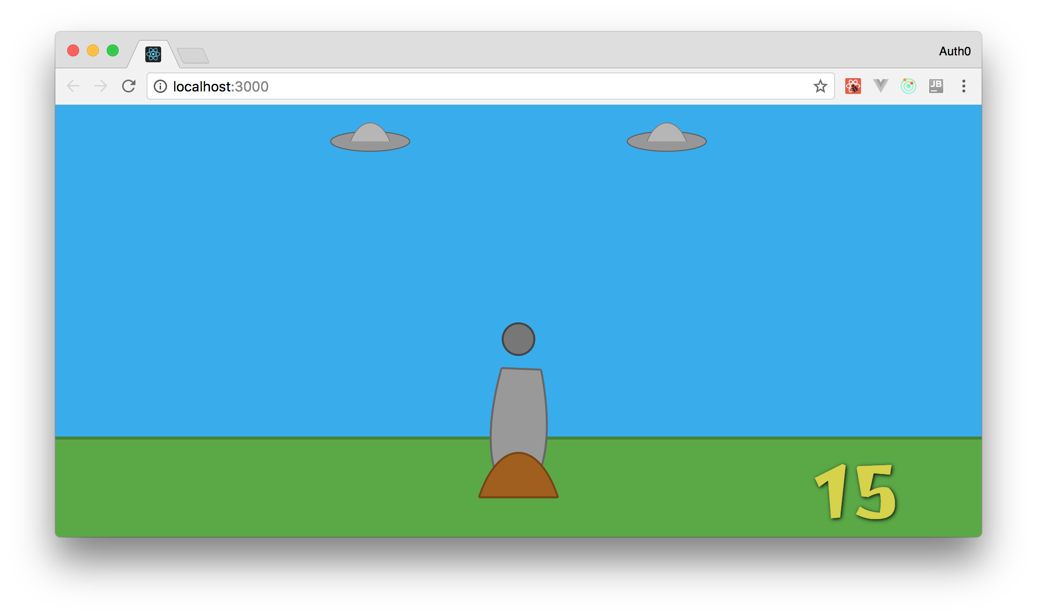 Creating flying objects in your React game