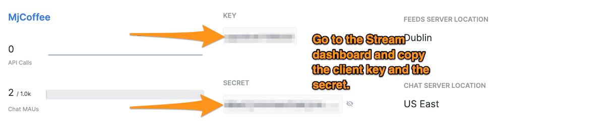 chat app secret