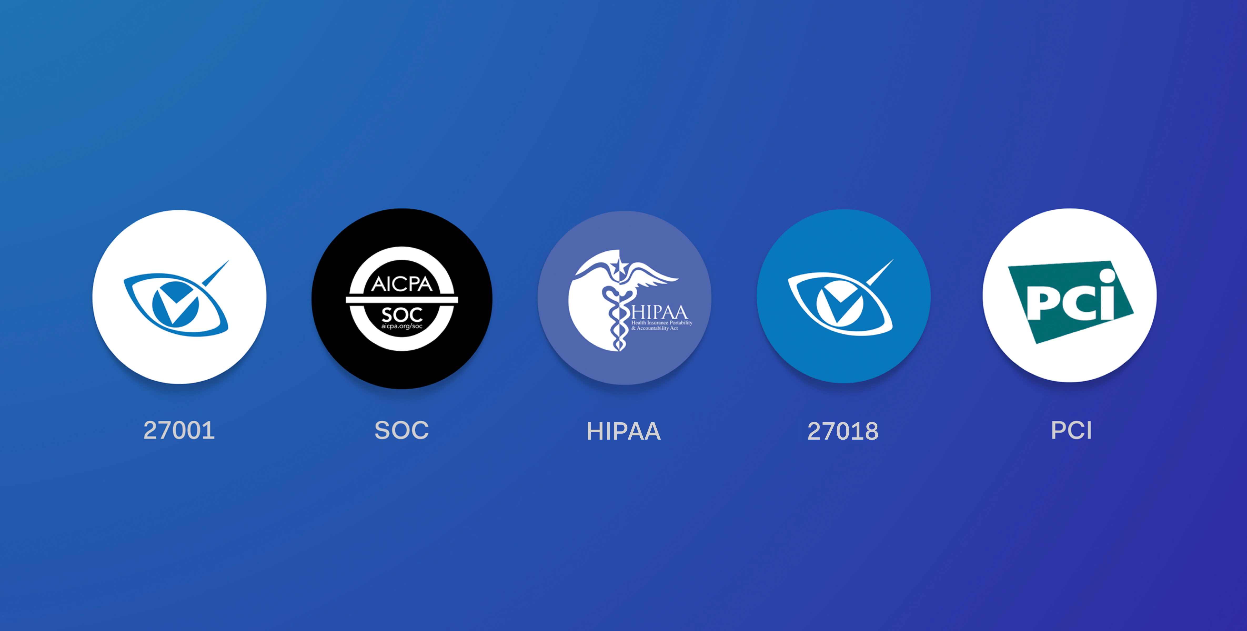 Auth0 achieve important certifications, such as ISO 27001 and 270218, SOC 2 Type 2, HIPAA and PCI.