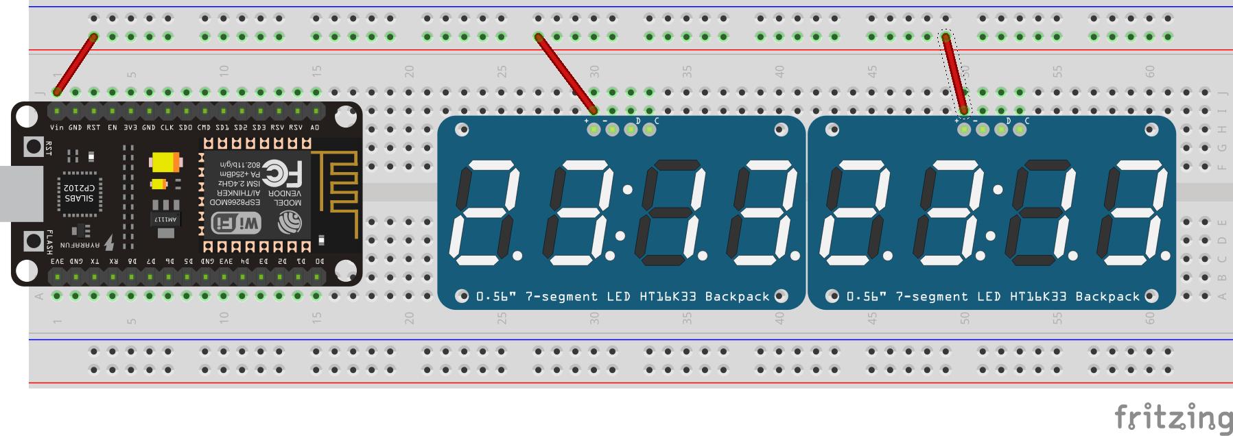 Voltage setup diagram