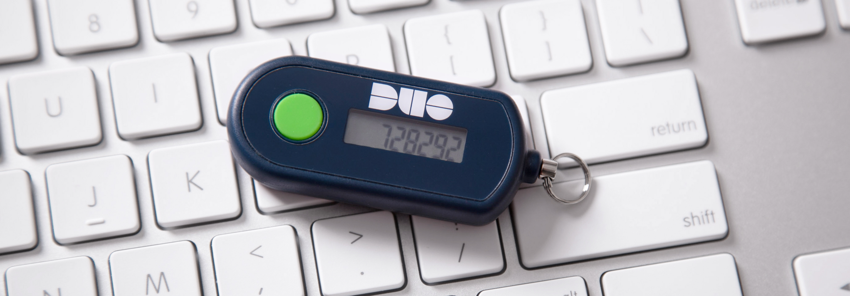 DUO hardware token for two-factor authentication