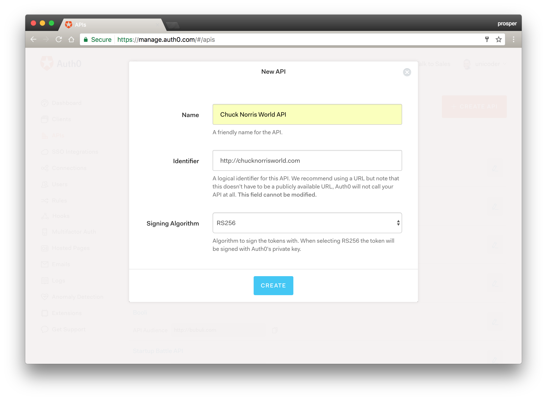 Creating the Chuck Norris World API