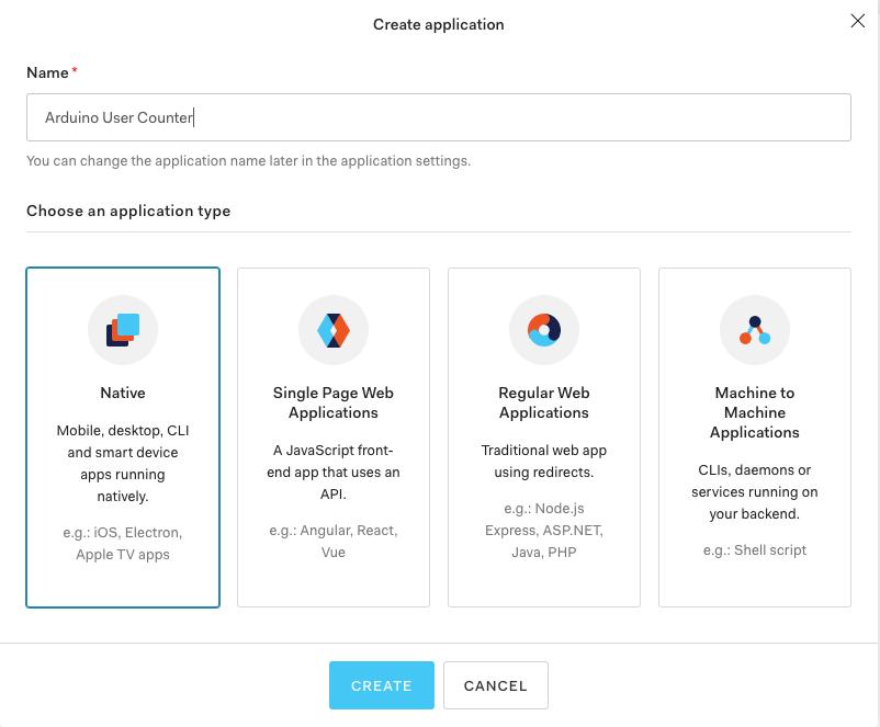 Create native application
