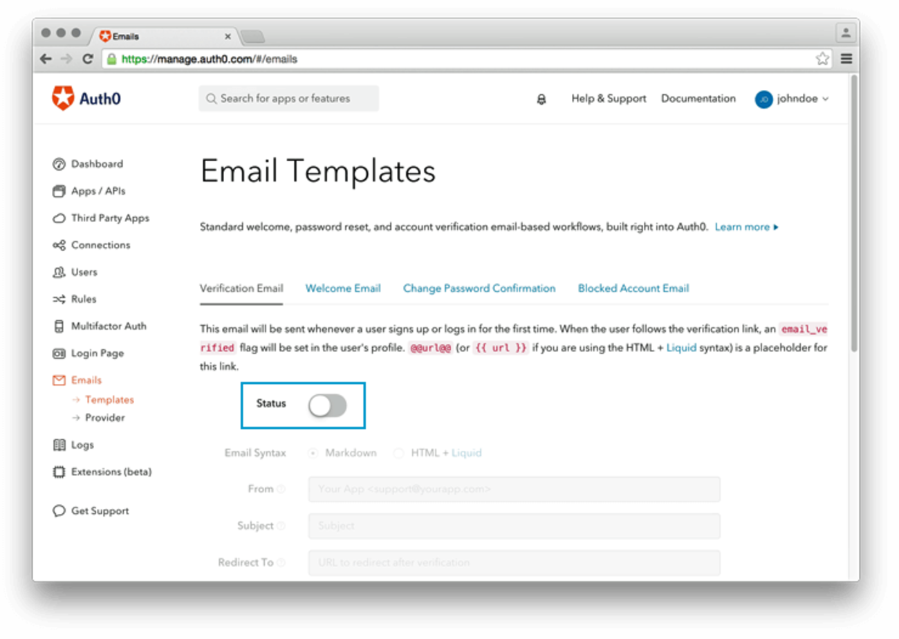 Auth0 Email
