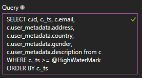Import query