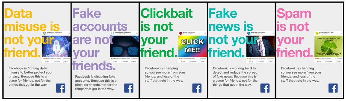Facebook post-data-breach apology ad campaign