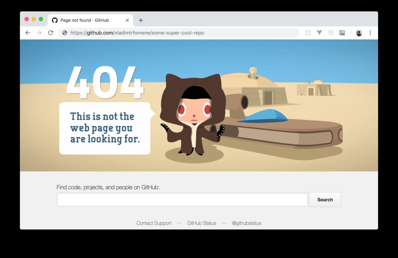 GitHub repo deleted through a Retrofit client