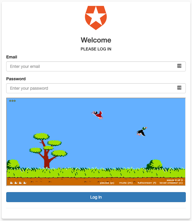 Duck Hunt CRAPTCHA