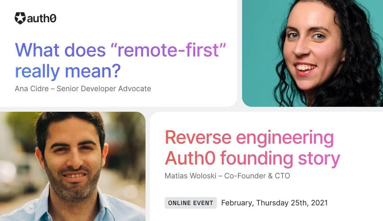 Auth0 Tech Talk in Spain