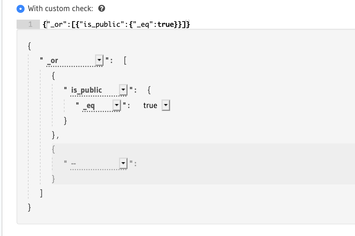 In-progress screenshot of adding a custom check