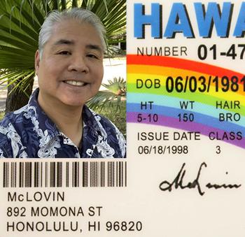 A fake ID