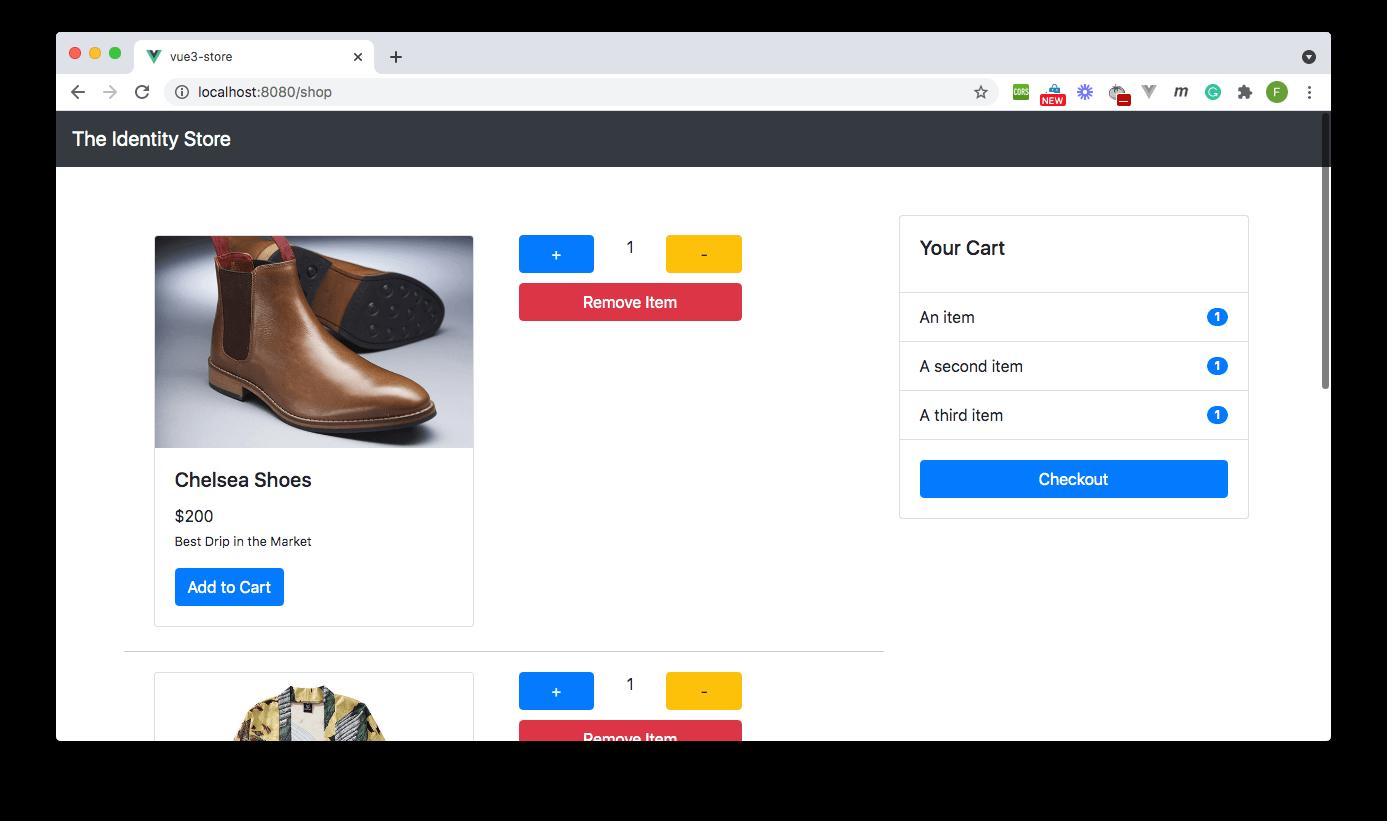 """""""Cart details page - E-commerce App"""""""