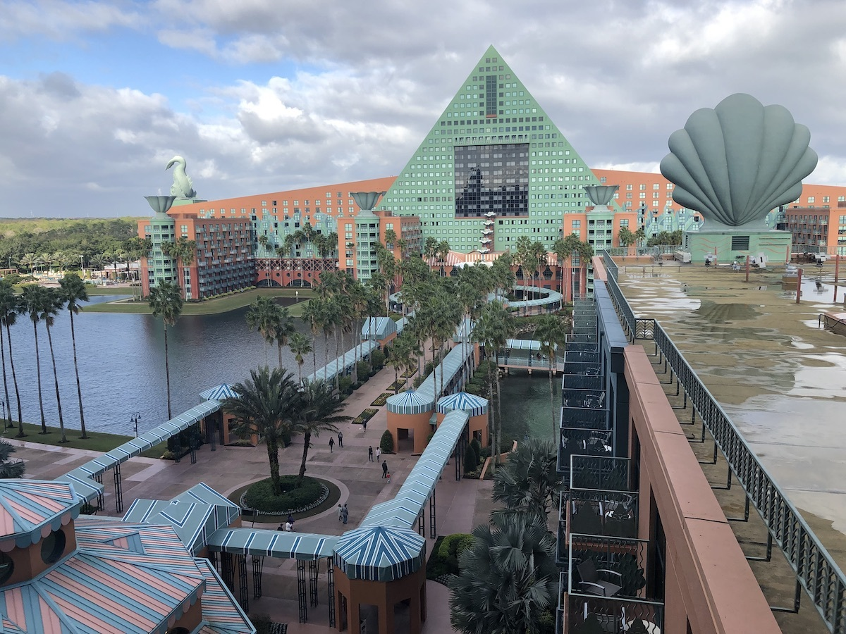 The Dolphin Hotel in Orlando, Florida, USA. This photo contains Exif metadata - see if you can change its GPS coordinates!