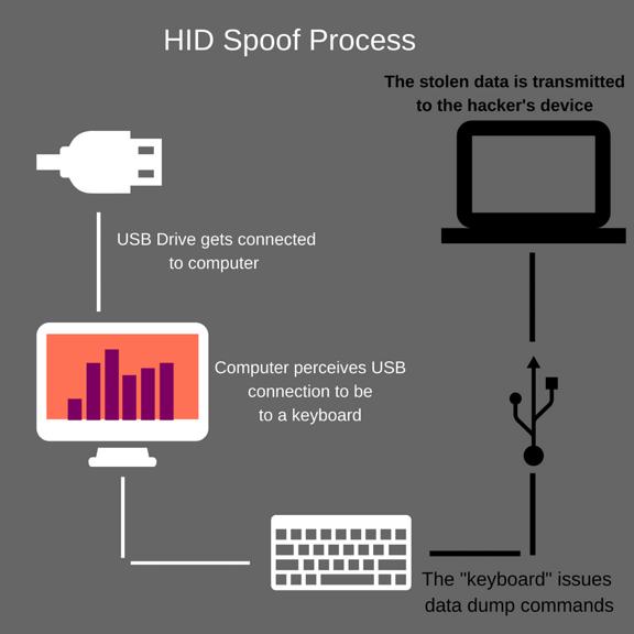 HID spoof process