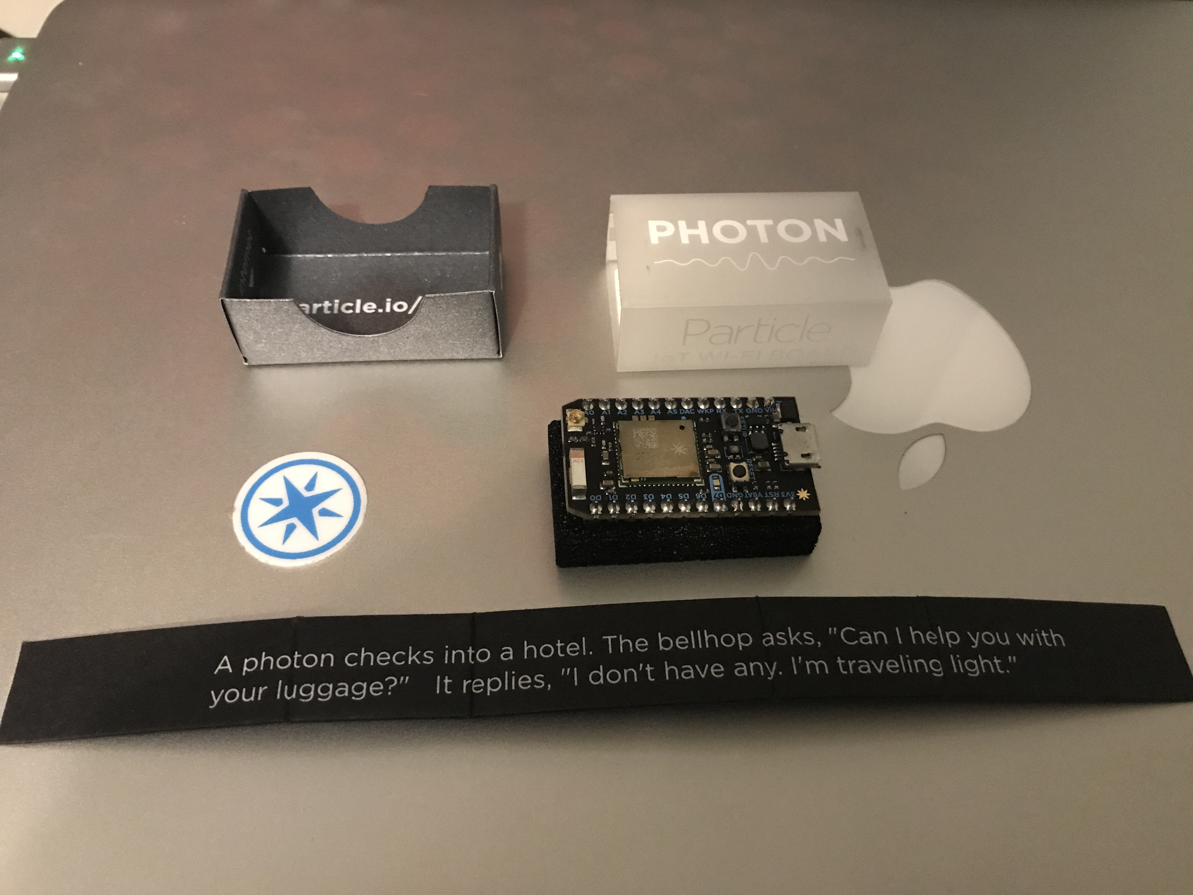 Particle Photon Packaging