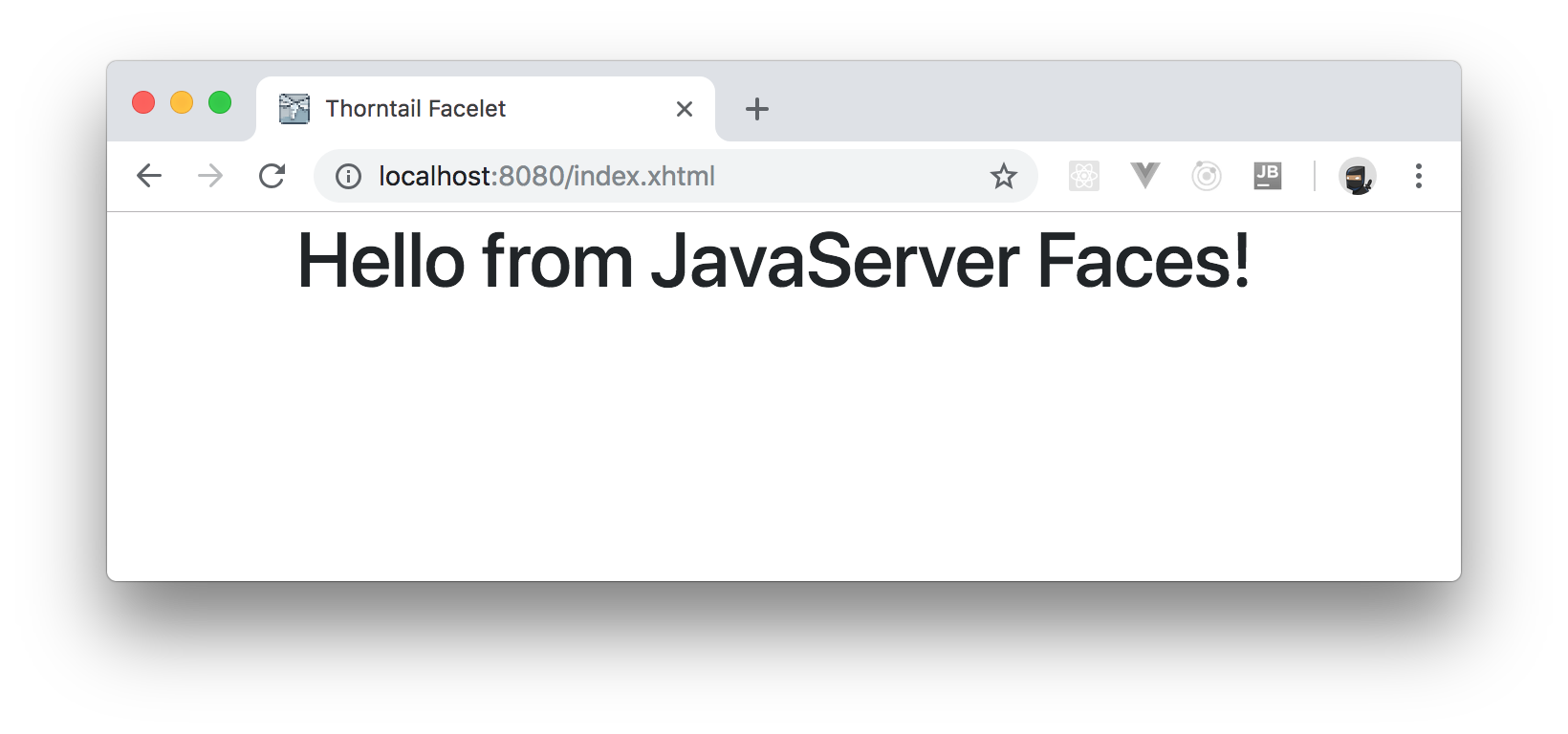 Configuring JavaServer Faces in your Java EE application.
